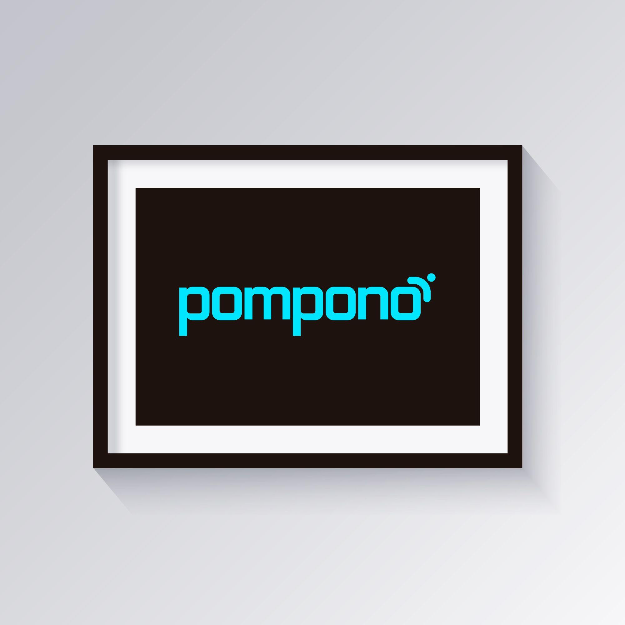 Логотип для шапок Pompono - дизайнер alexchexes