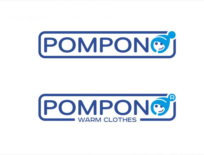 Логотип для шапок Pompono - дизайнер kras-sky