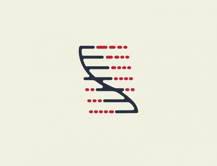 Логотип для исследовательской лаборатории - дизайнер line-2-0