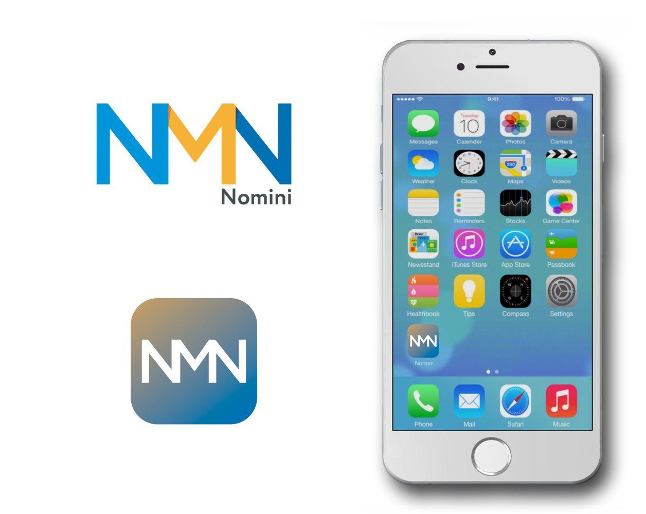 Логотип и иконка для iOS-приложения Nomini - дизайнер R-A-M