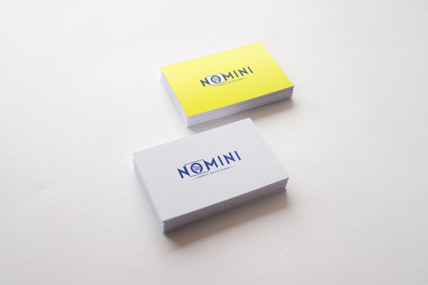 Логотип и иконка для iOS-приложения Nomini - дизайнер weste32