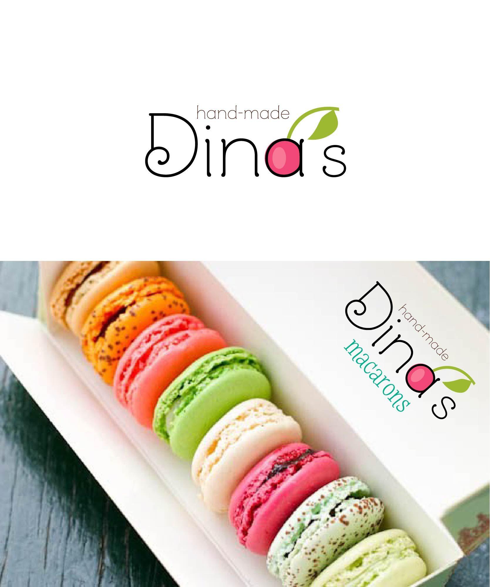 Лого для кондитерских изделий DINA's - дизайнер Darya_Petrova