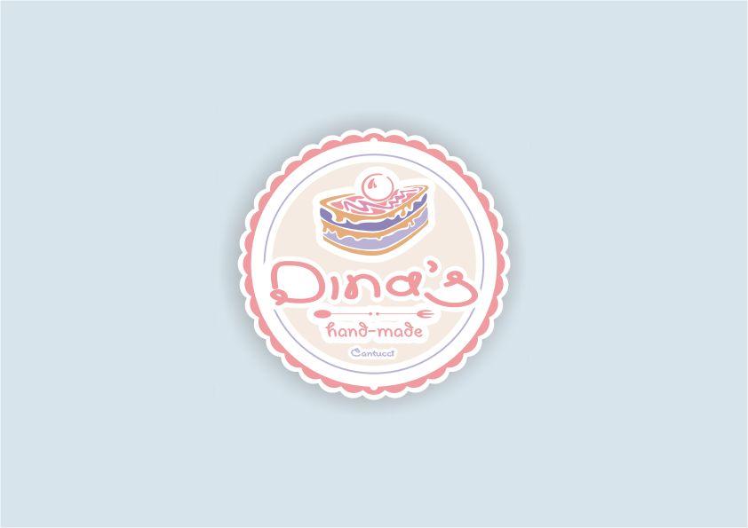 Лого для кондитерских изделий DINA's - дизайнер Yak84
