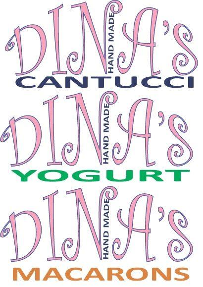 Лого для кондитерских изделий DINA's - дизайнер amarilliska