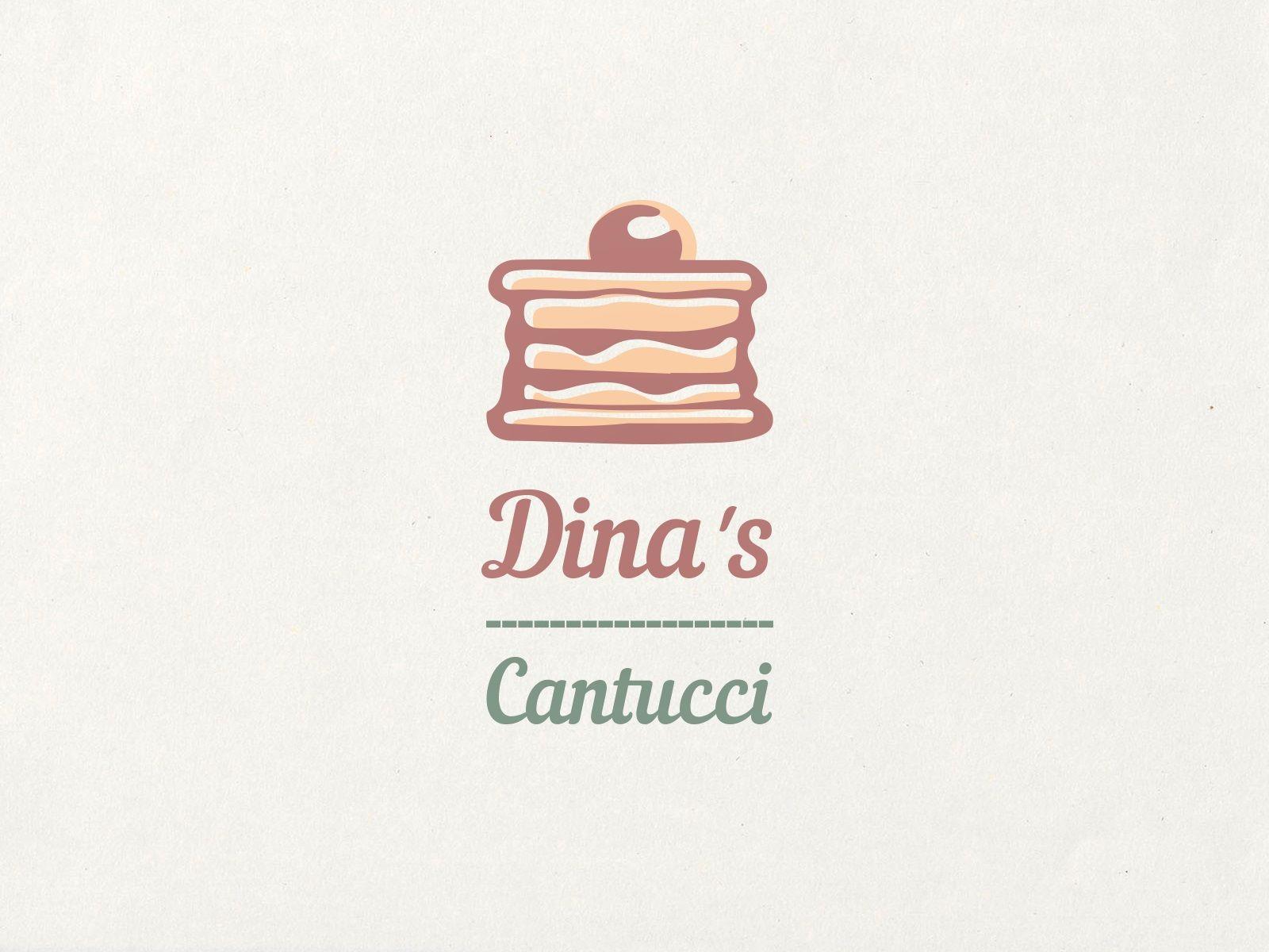Лого для кондитерских изделий DINA's - дизайнер shusha