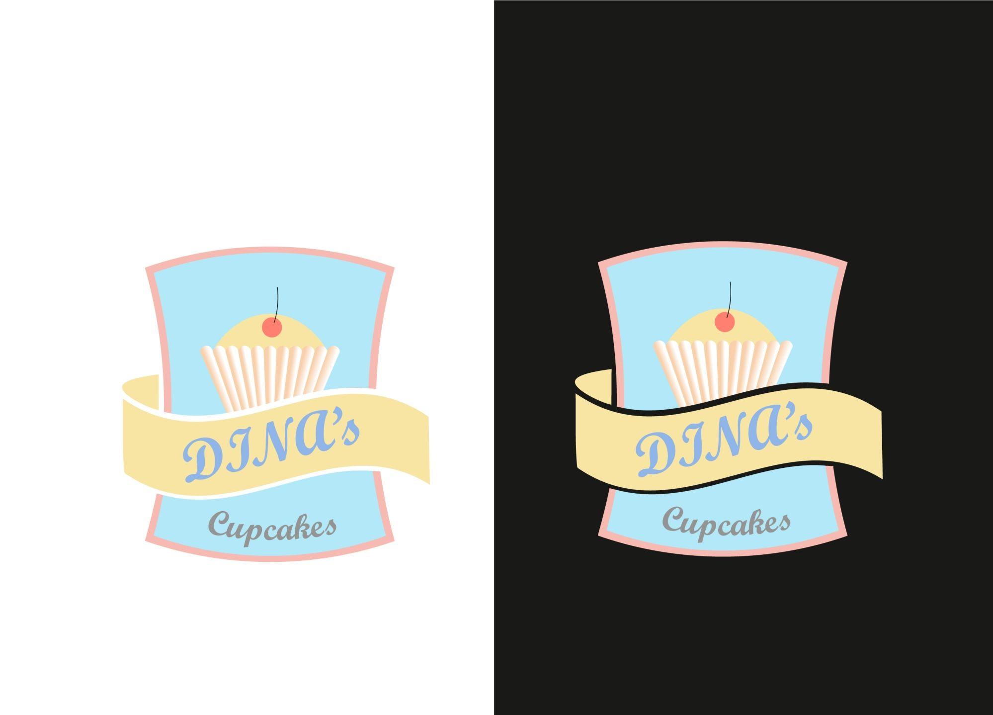Лого для кондитерских изделий DINA's - дизайнер bunch05