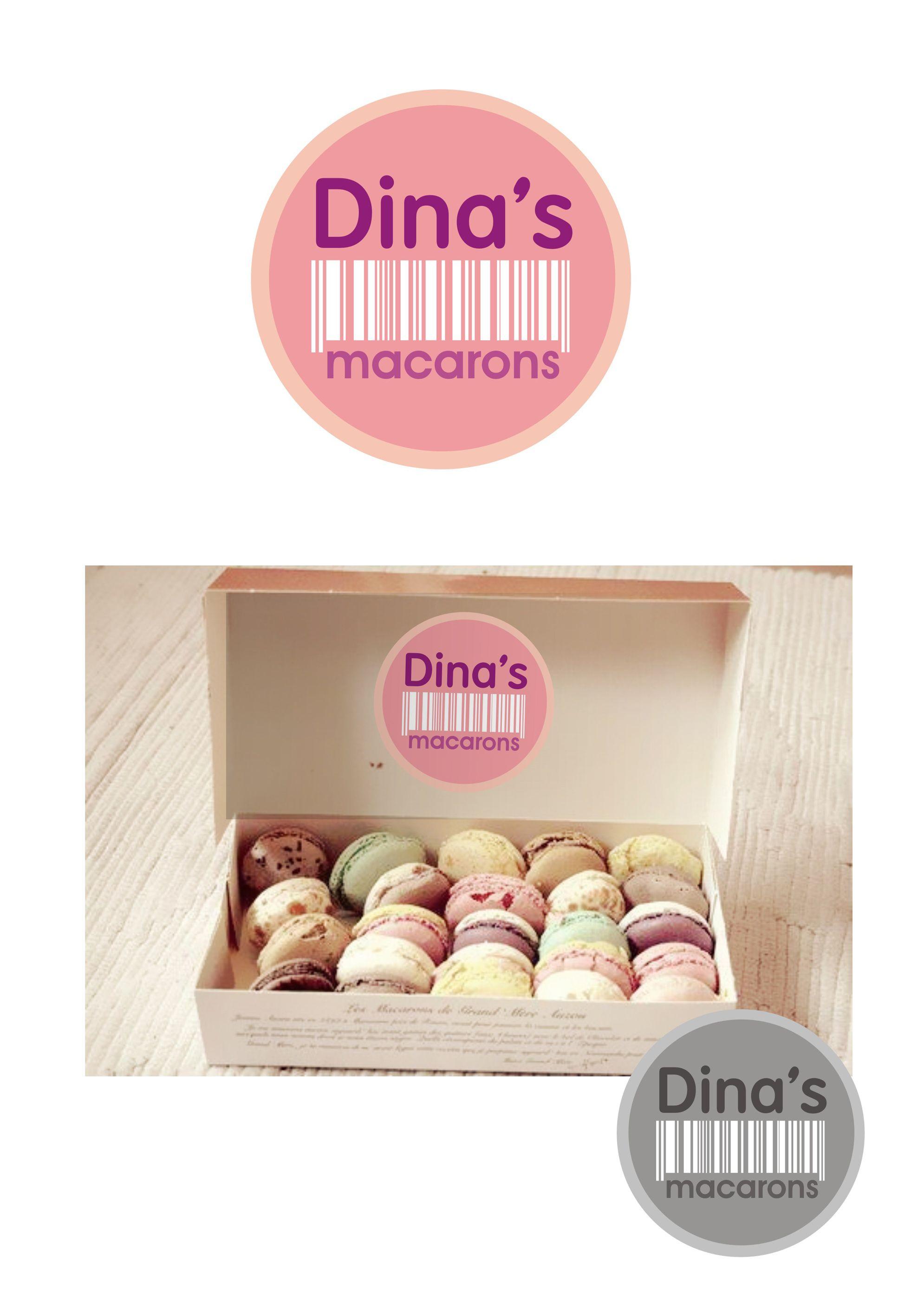 Лого для кондитерских изделий DINA's - дизайнер zarzamora