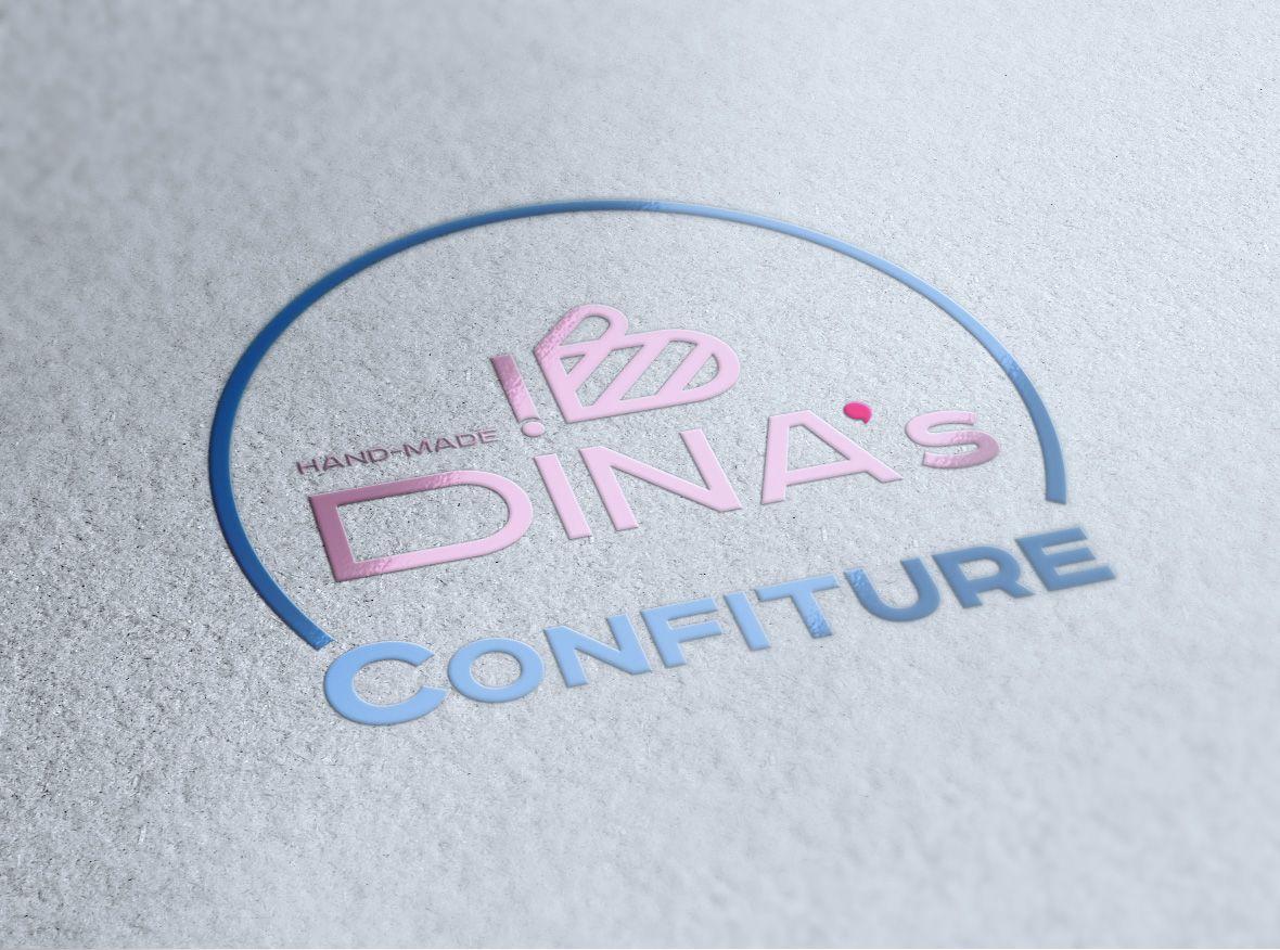 Лого для кондитерских изделий DINA's - дизайнер Advokat72