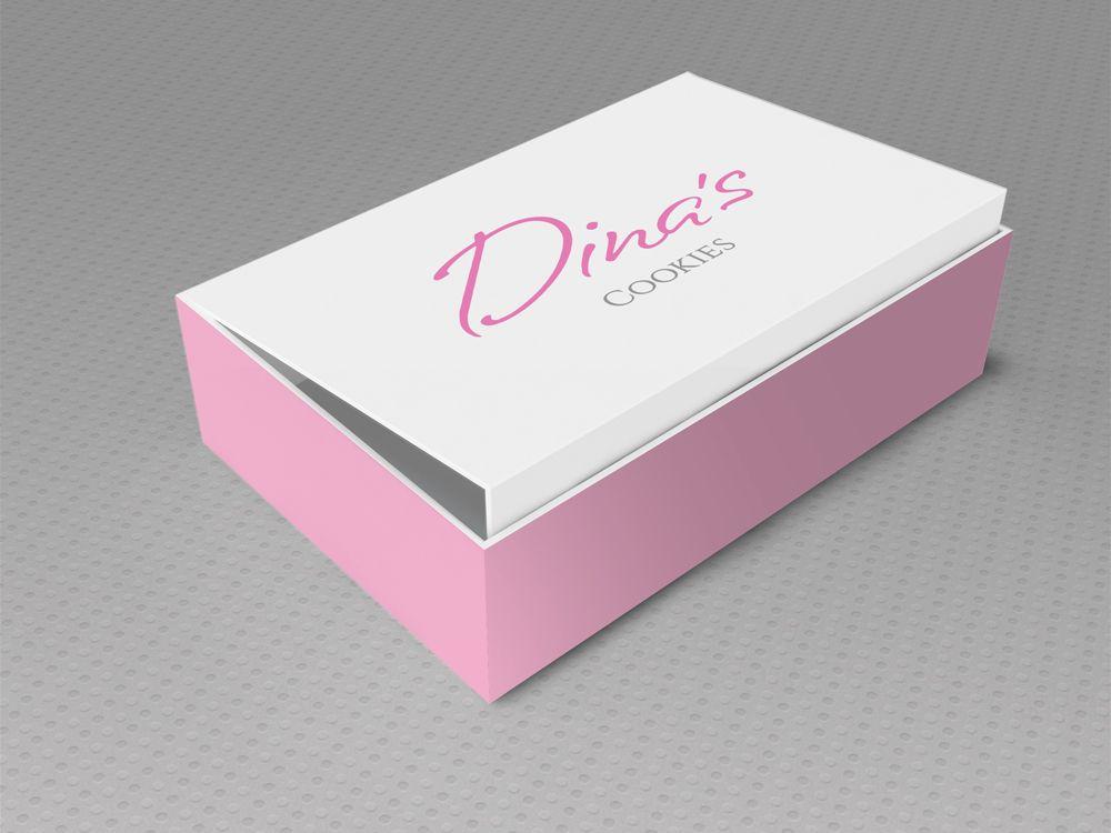 Лого для кондитерских изделий DINA's - дизайнер redcat