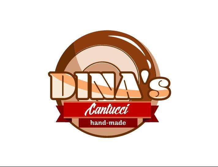 Лого для кондитерских изделий DINA's - дизайнер Archer