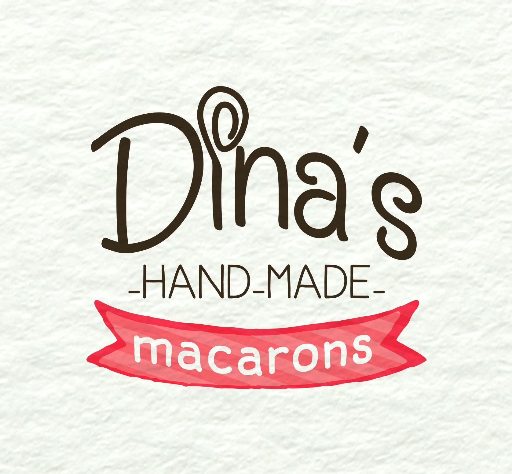 Лого для кондитерских изделий DINA's - дизайнер kuchupen