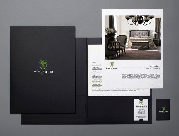 Разработка фирменного стиля для мебельной компании - дизайнер ElenaCHEHOVA