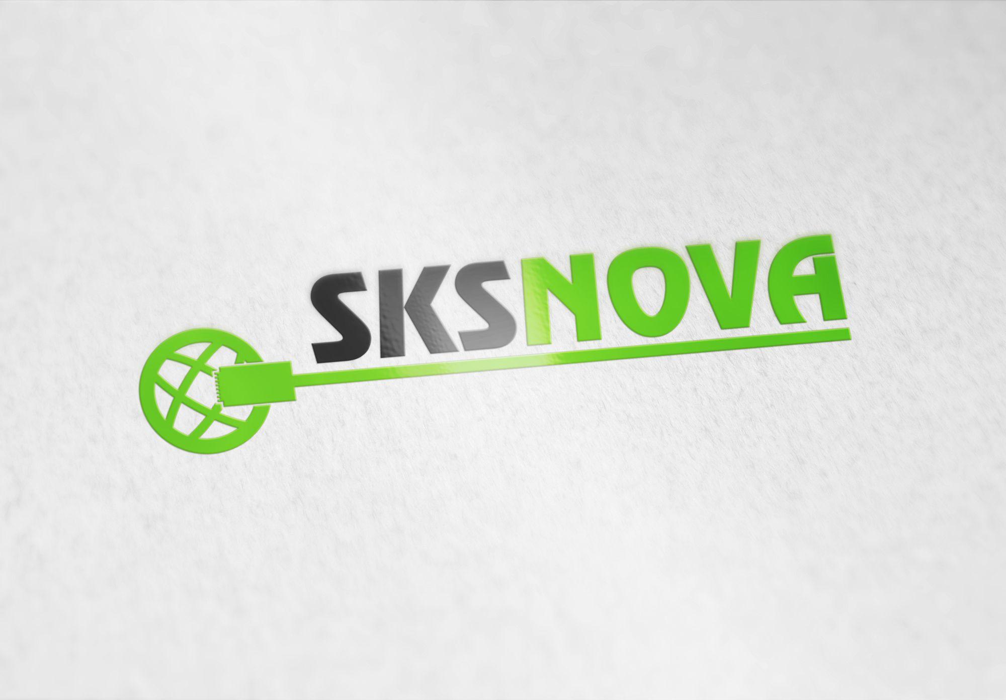 Логотип для компании по монтажу комп. сетей - дизайнер Ninpo
