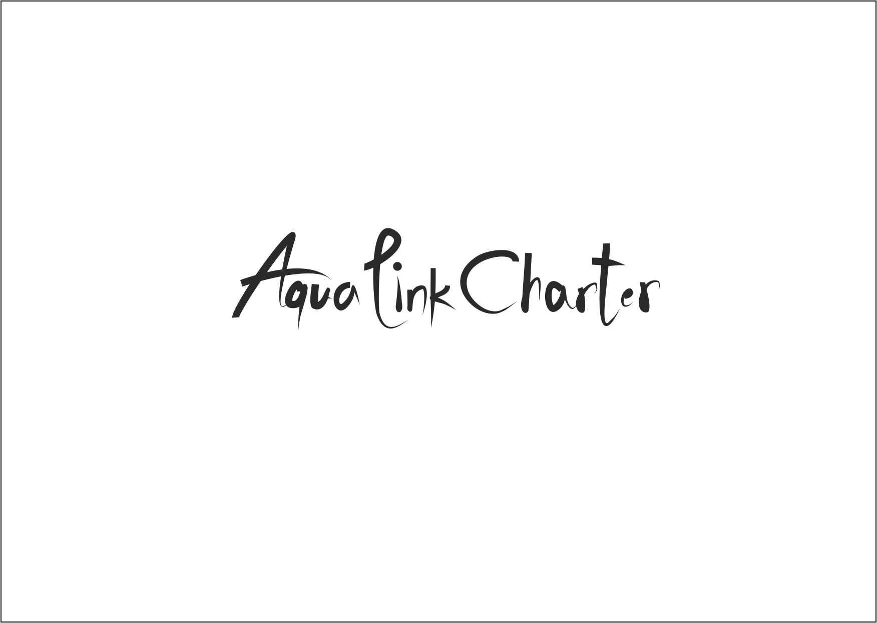 Аренда (чартер) парусных яхт - Aqua Link Charter - дизайнер Marina_L_