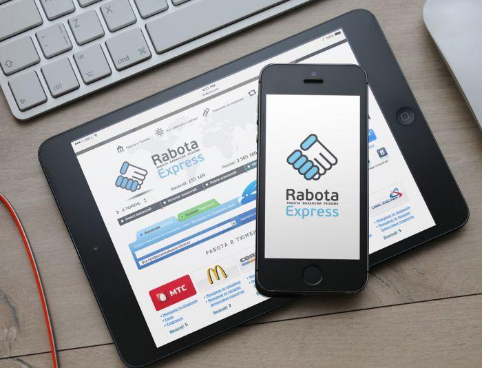 Логотип для RabotaExpress.ru (победителю - бонус) - дизайнер Alphir