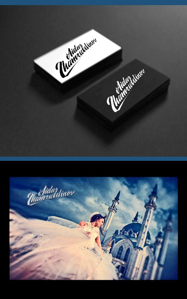 Логотип для фотографа - дизайнер blackmoloko