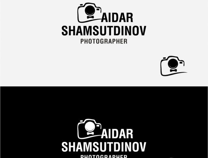 Логотип для фотографа - дизайнер peps-65
