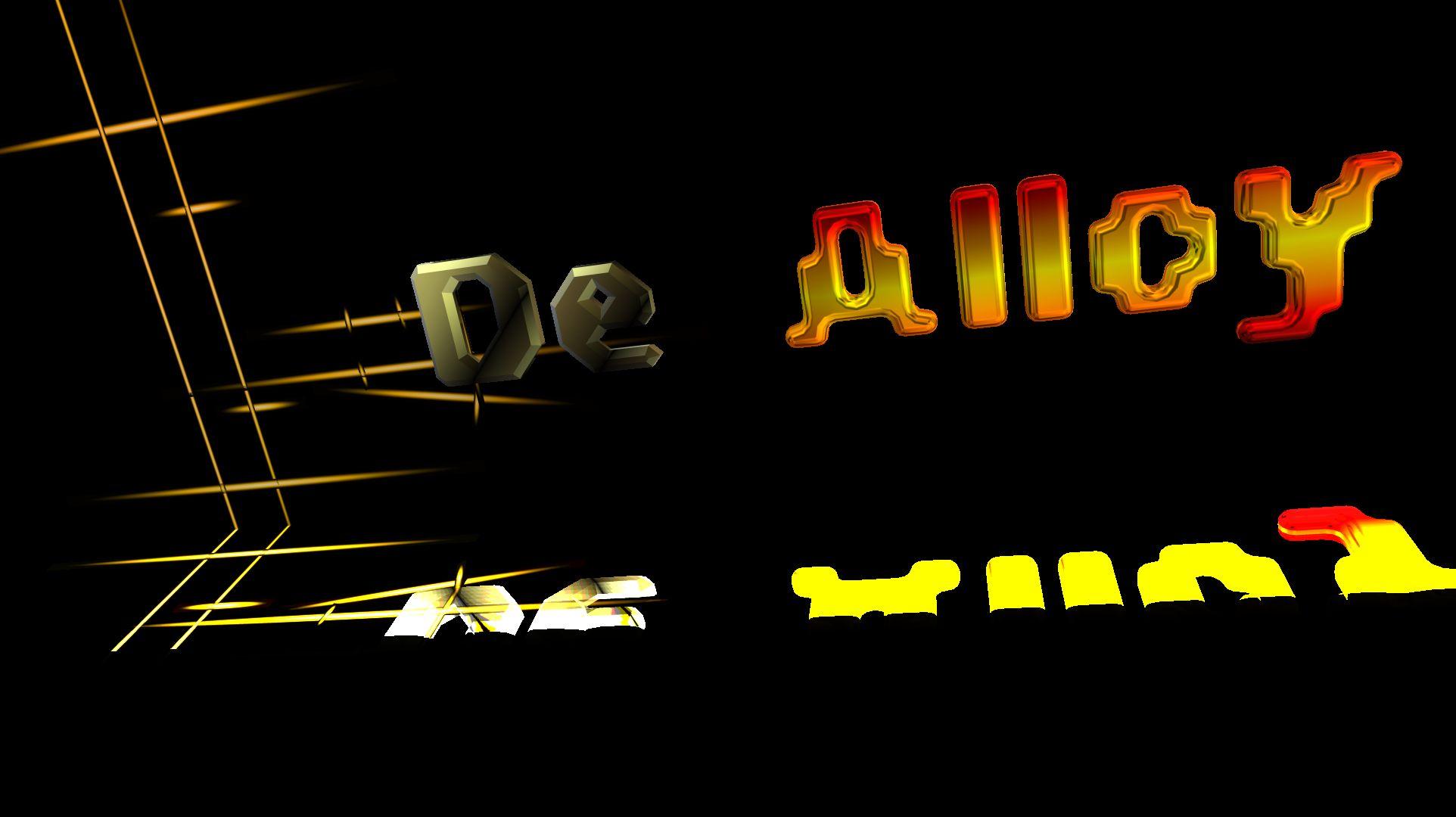 Логотип DeAlloy - дизайнер QAZWS2