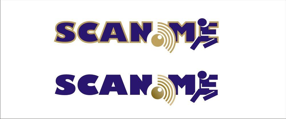 Логотип фитнес комбайна SCAN.ME - дизайнер pilotdsn