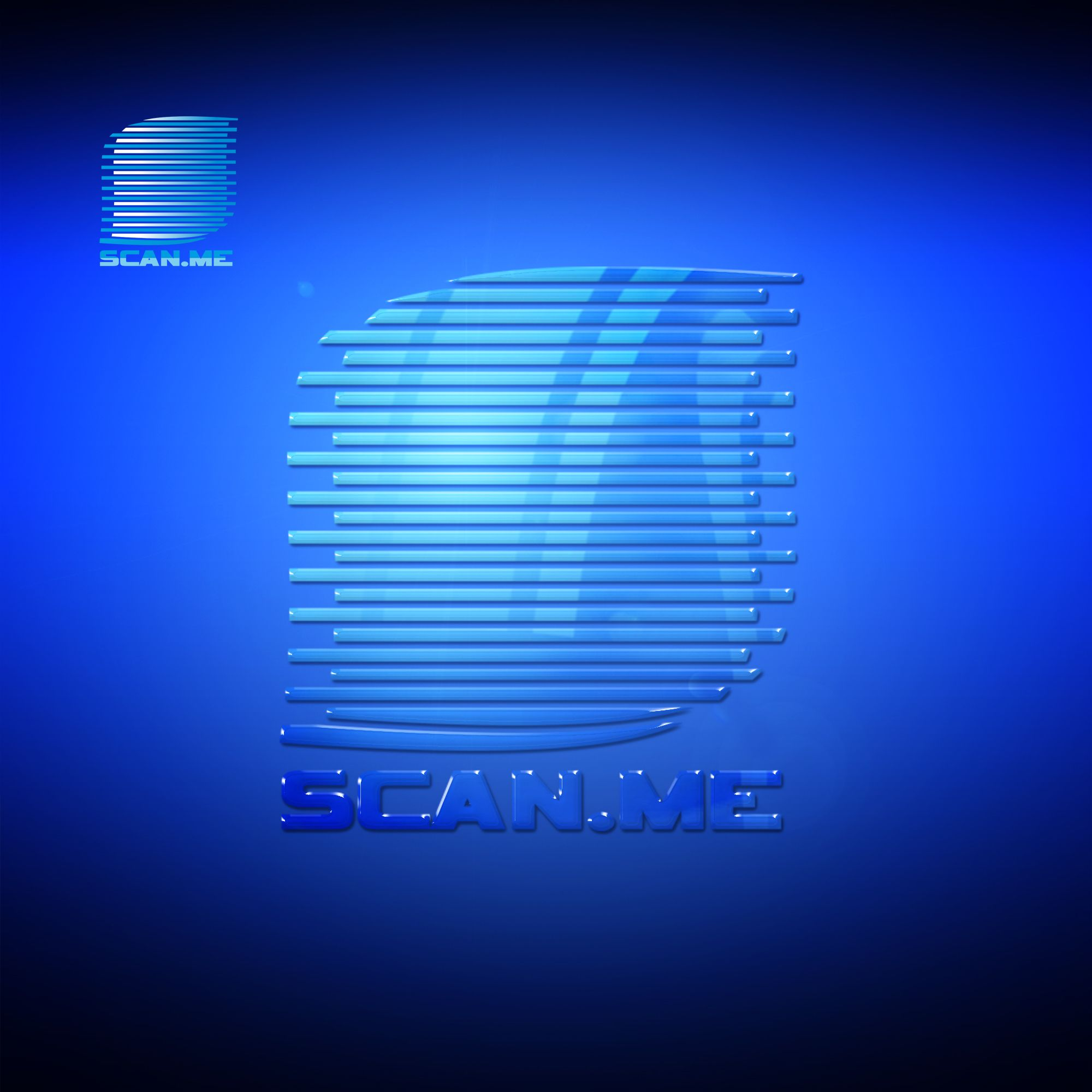 Логотип фитнес комбайна SCAN.ME - дизайнер markosov