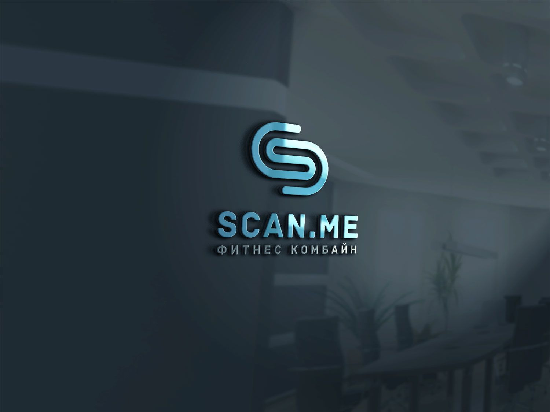 Логотип фитнес комбайна SCAN.ME - дизайнер spawnkr