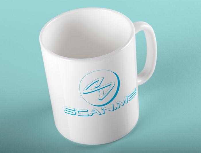 Логотип фитнес комбайна SCAN.ME - дизайнер Ninpo