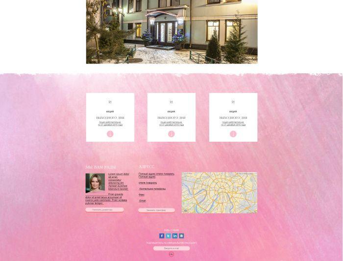 Дизайн сайта отеля - дизайнер Nikolo_Marti