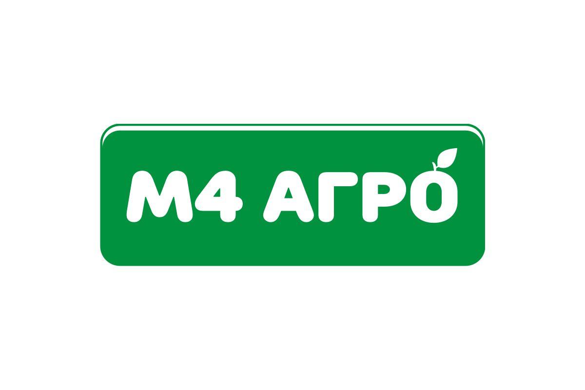 Логотип для M4 АГРО - Российские фрукты - дизайнер vision