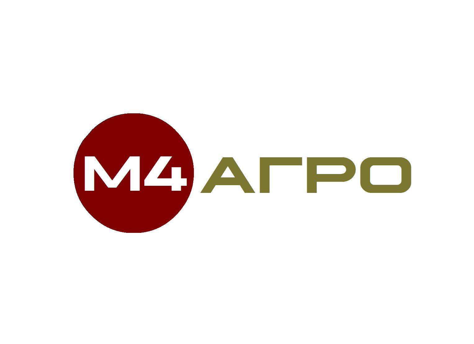 Логотип для M4 АГРО - Российские фрукты - дизайнер flashbrowser
