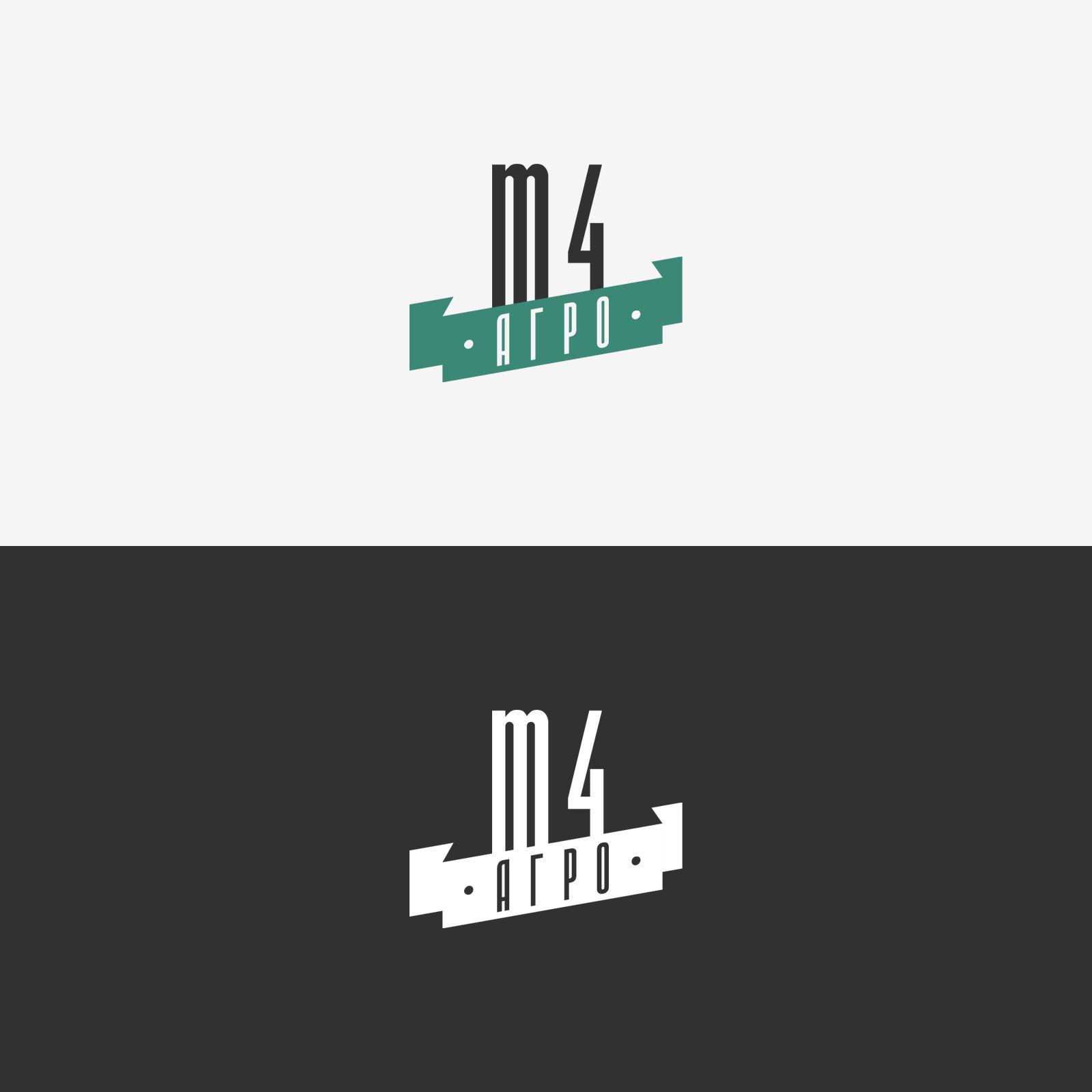 Логотип для M4 АГРО - Российские фрукты - дизайнер OlegFreeman
