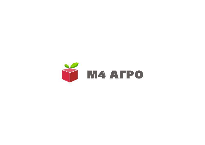 Логотип для M4 АГРО - Российские фрукты - дизайнер Yak84