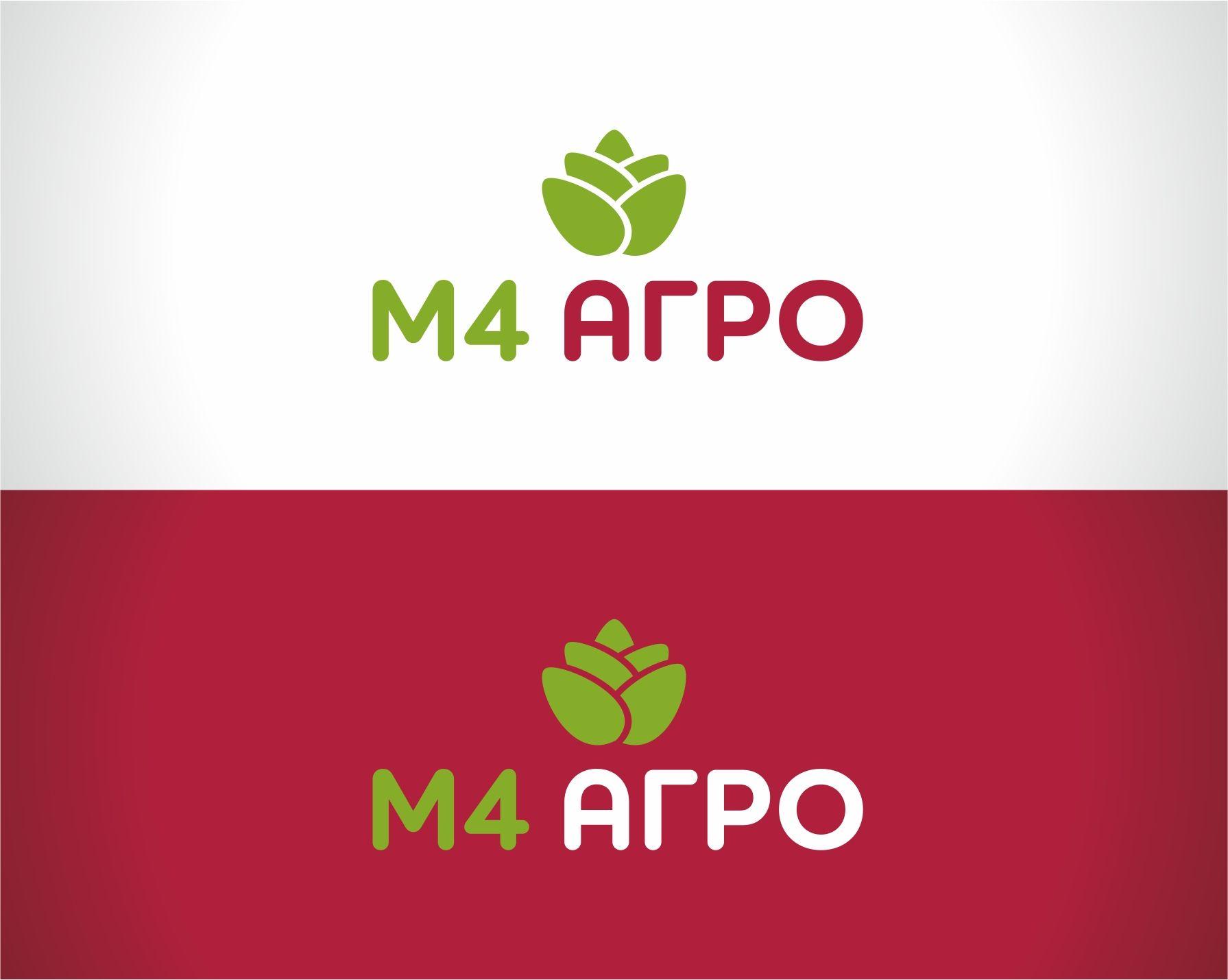 Логотип для M4 АГРО - Российские фрукты - дизайнер tanusha