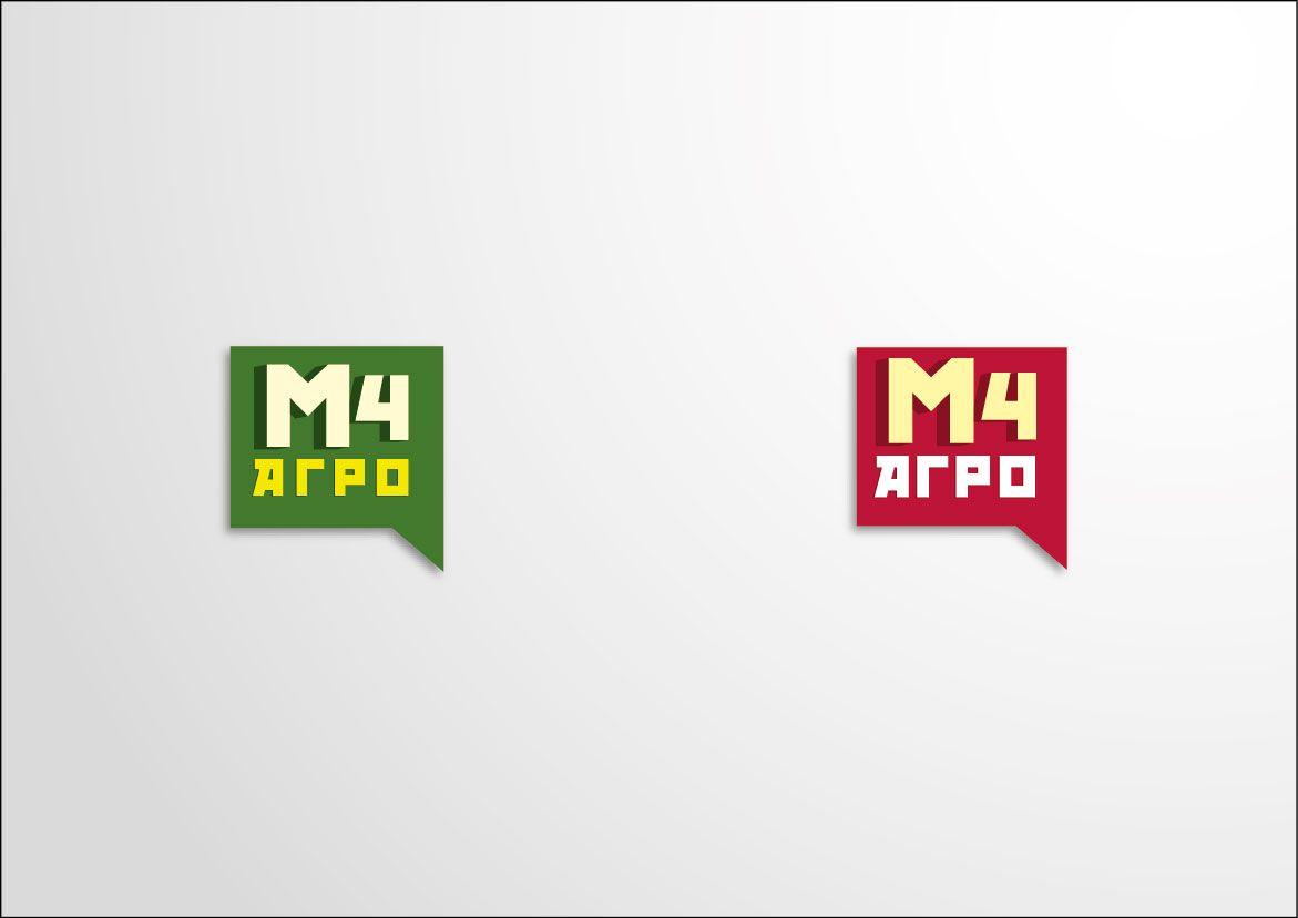 Логотип для M4 АГРО - Российские фрукты - дизайнер uchagina