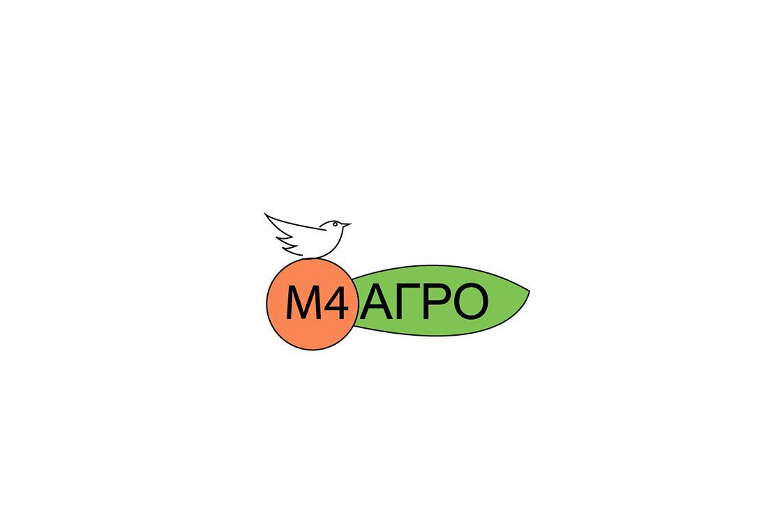 Логотип для M4 АГРО - Российские фрукты - дизайнер SmolinDenis