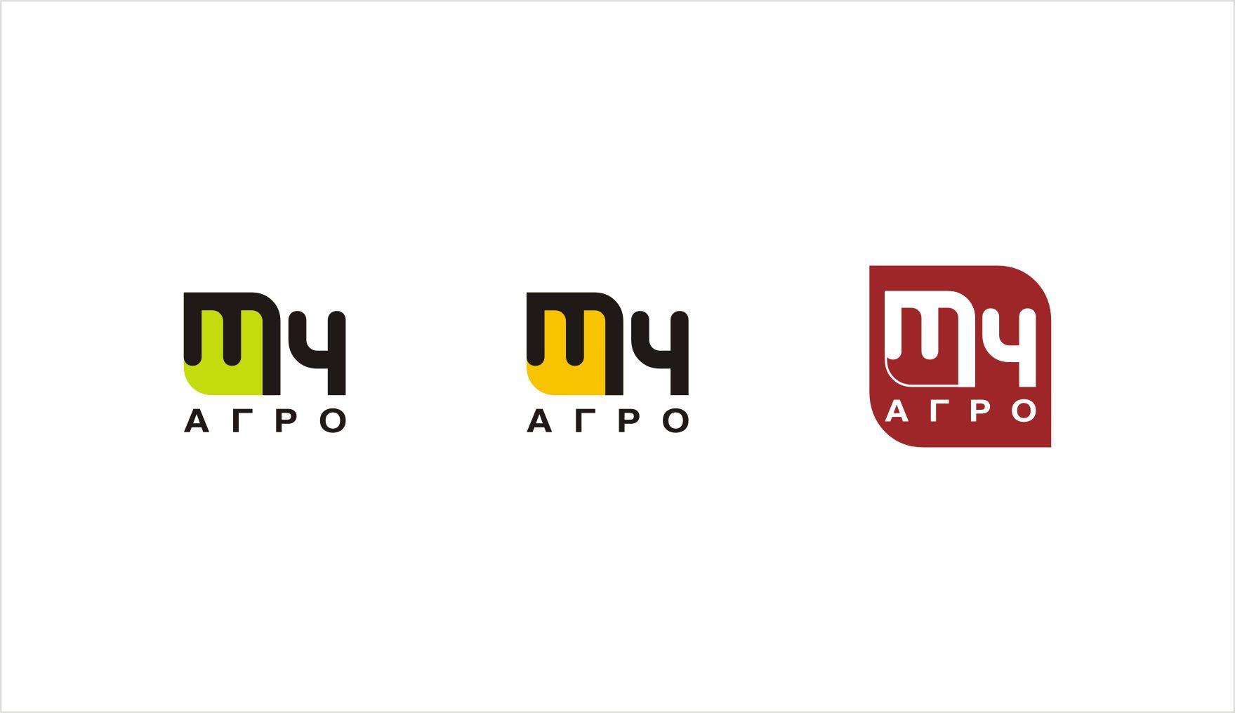 Логотип для M4 АГРО - Российские фрукты - дизайнер Svetilnik