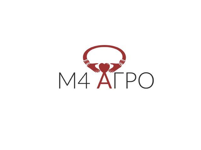 Логотип для M4 АГРО - Российские фрукты - дизайнер twe-pro