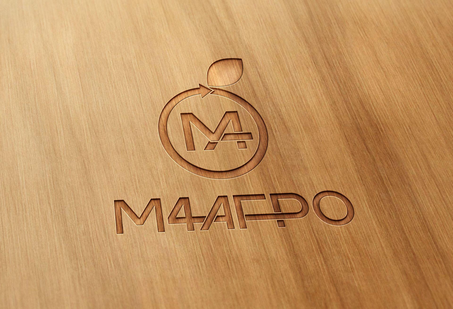 Логотип для M4 АГРО - Российские фрукты - дизайнер Advokat72