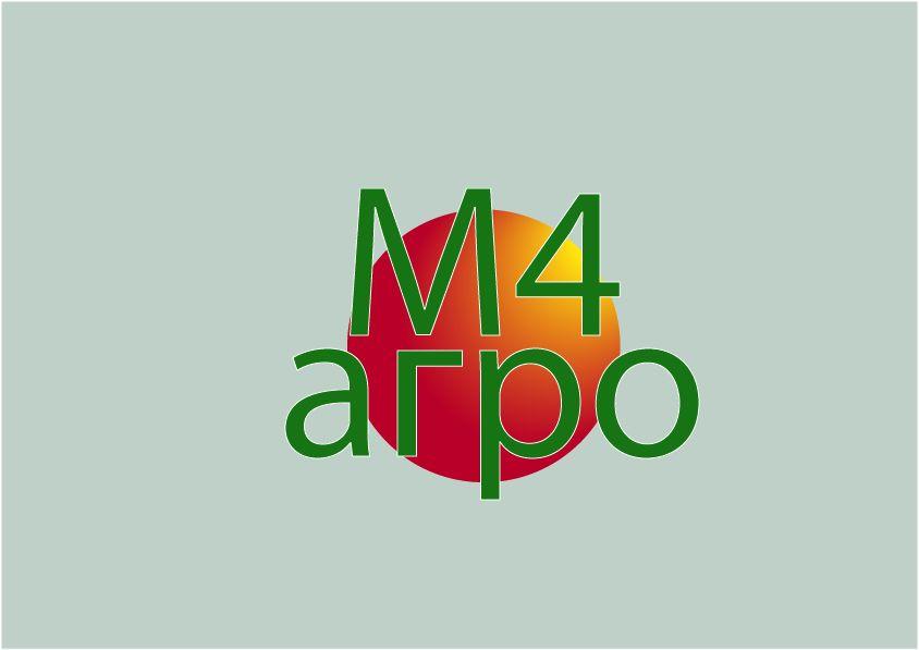 Логотип для M4 АГРО - Российские фрукты - дизайнер velo