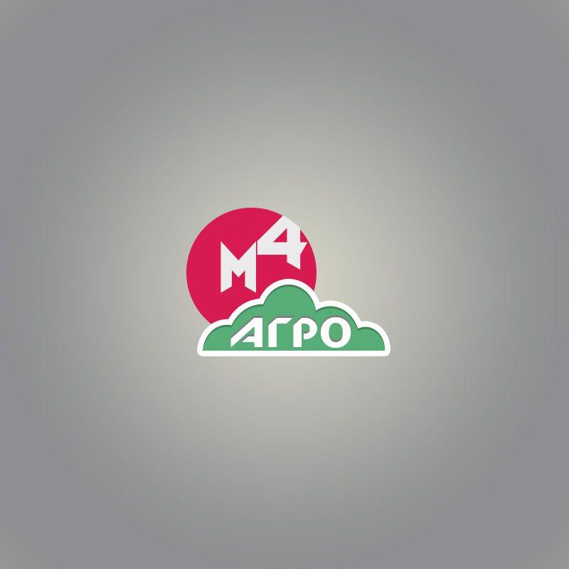 Логотип для M4 АГРО - Российские фрукты - дизайнер mess