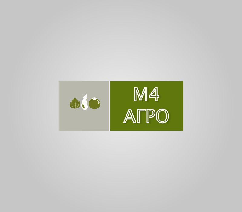 Логотип для M4 АГРО - Российские фрукты - дизайнер 0Na