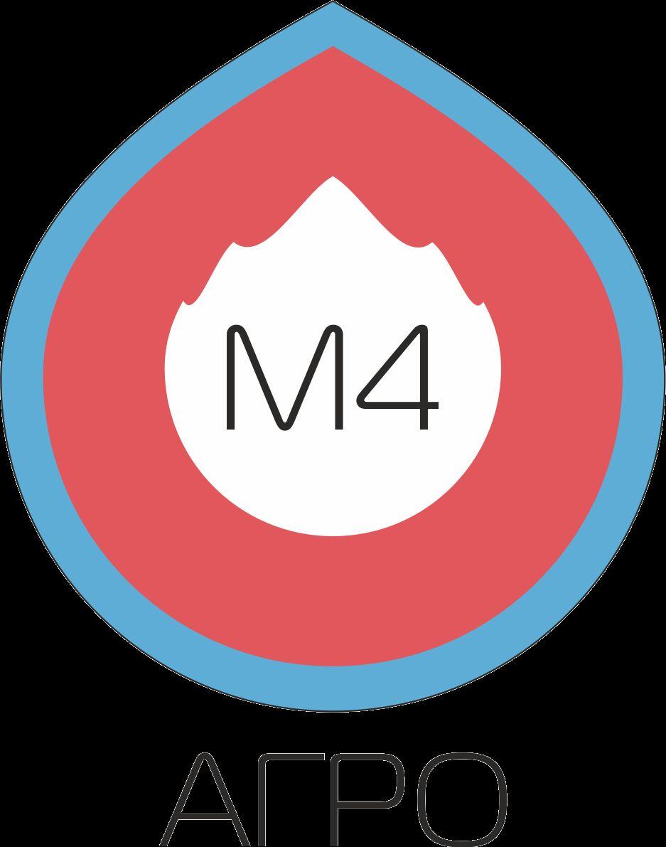 Логотип для M4 АГРО - Российские фрукты - дизайнер pilipe