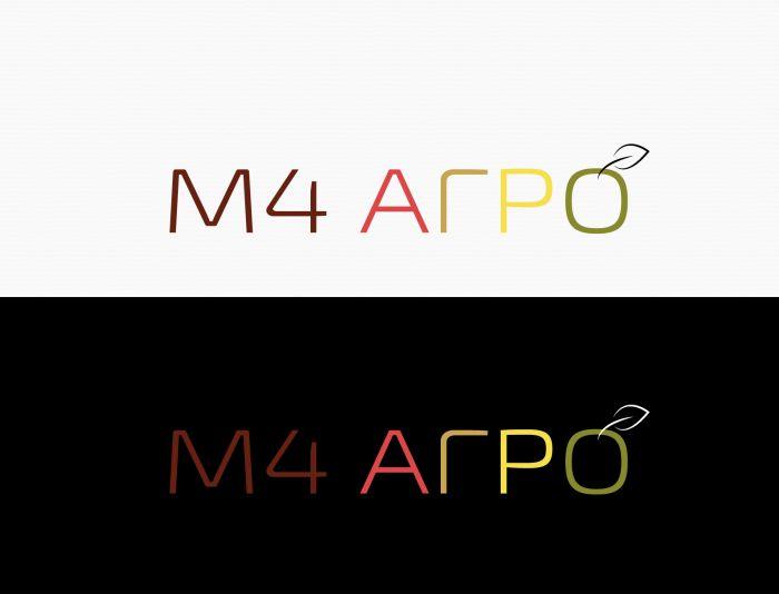 Логотип для M4 АГРО - Российские фрукты - дизайнер eestingnef