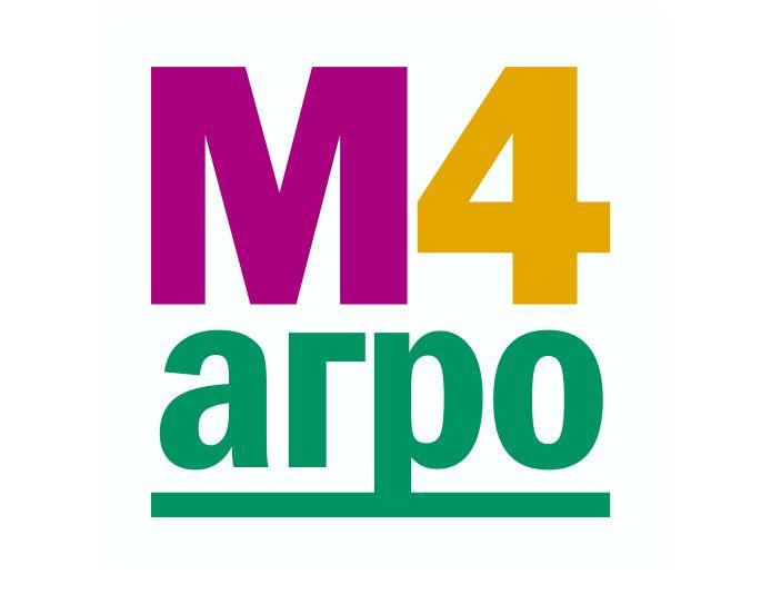 Логотип для M4 АГРО - Российские фрукты - дизайнер OlegSVRA