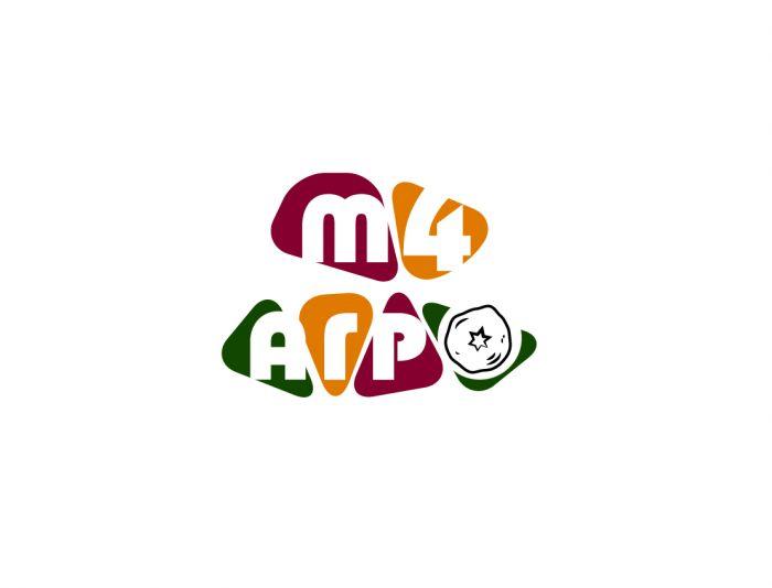 Логотип для M4 АГРО - Российские фрукты - дизайнер V0va