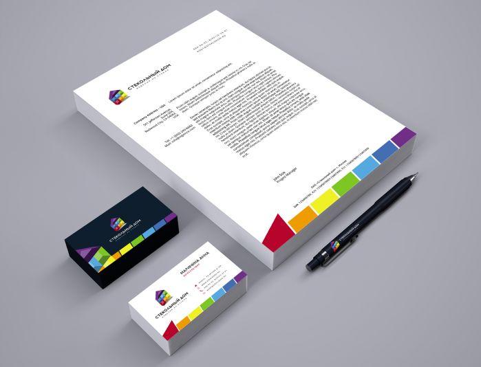 Логотип и ФС для компании «Стекольный дом» - дизайнер U4po4mak