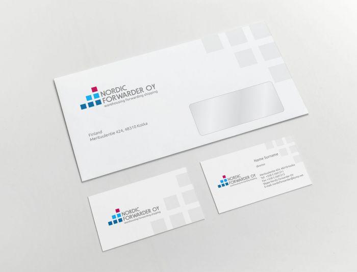 Фирменный стиль для экспедиторской компании - дизайнер nedofedo