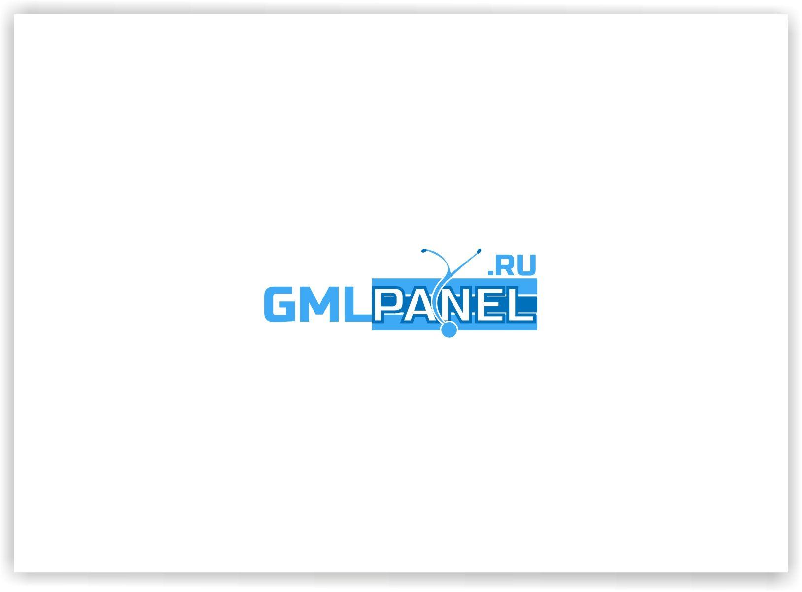 Логотип для сайта GMLPANEL.RU - дизайнер malito