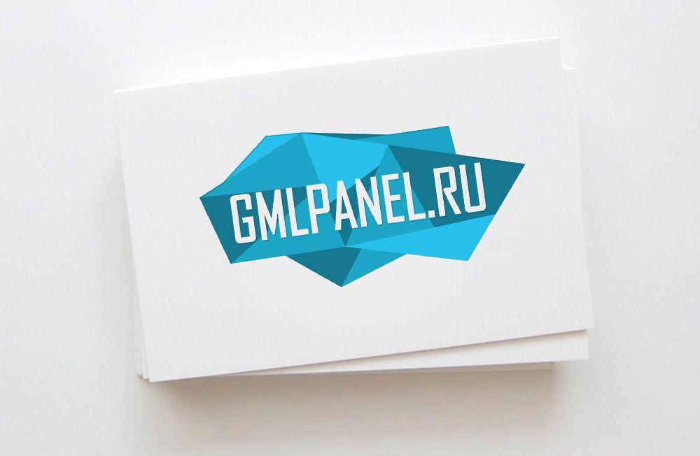Логотип для сайта GMLPANEL.RU - дизайнер FONBRAND