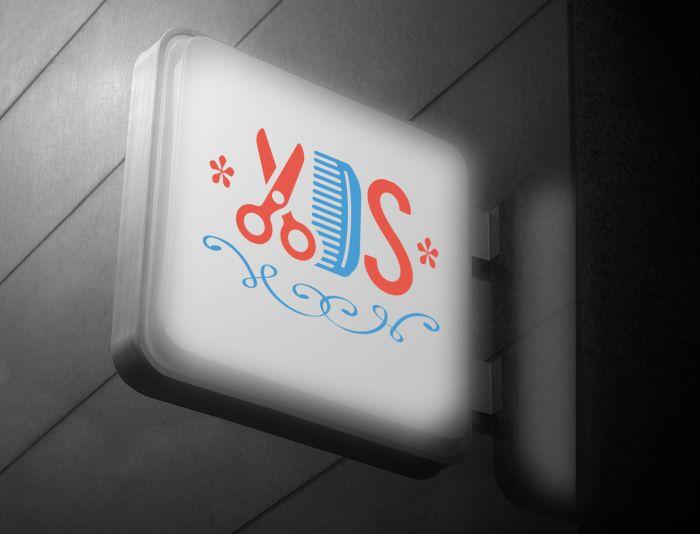 Логотип для сети парикмахерских - дизайнер Gas-Min