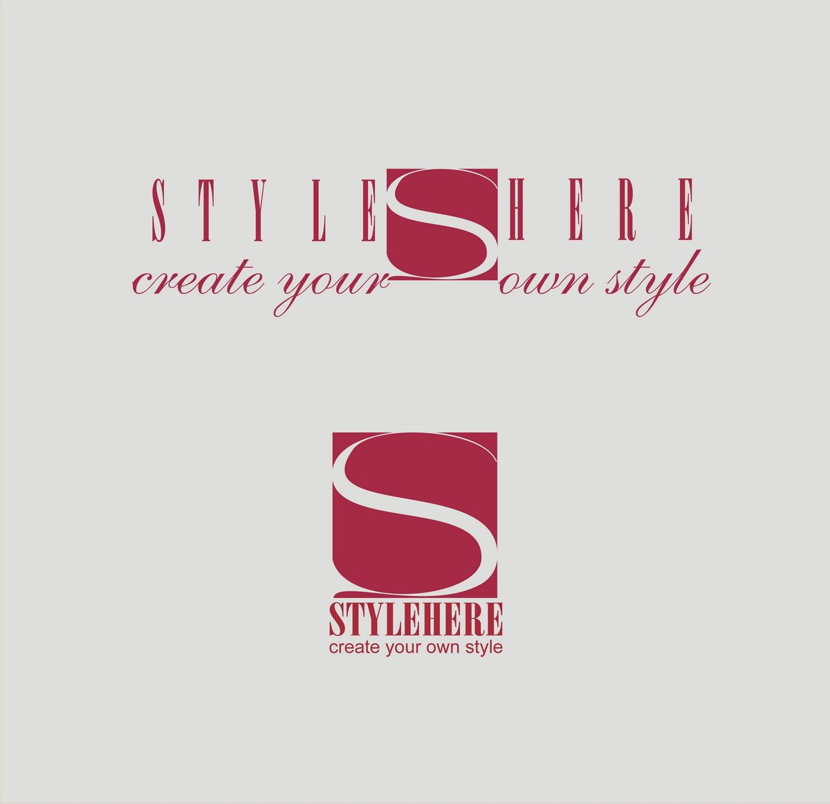 Логотип для интернет-магазина stylehere.ru - дизайнер oformitelblok